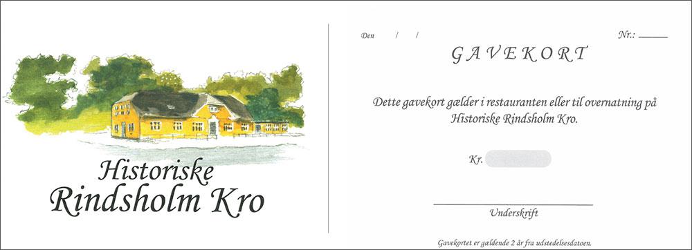 7eccb4be594 Hotel & Kro i Viborg. God restaurant og selskabslokaler - Gavekort